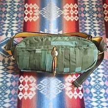 Nasngwam. 『DAILY WAIST BAG M (ARMY)inlay』
