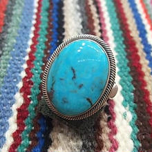 NAVAJO 『TURQUOISE RING(GLORIA BEGAY) 24号』