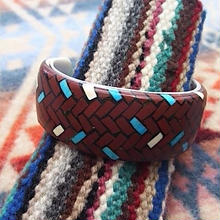 SANTO DOMINGO 『MOSAIC INLAY BANGLE(JOE REANO)』