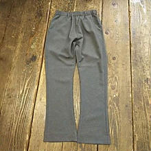 【SALE】 Nasngwam. 『ASSIST PANTS BOOTSCUT charcoal』