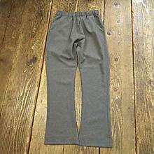【SALE】 Nasngwam. 『ASSIST PANTS BOOTSCUT charcoal』