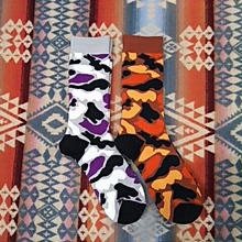 ionoi 『CAMO SOCKS(2COLOR)』