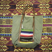 EARLY MORNING 『OLD SARAPE TOTE BAG』