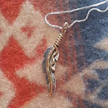 NAVAJO 『12KGF FEATHER NECKALCE(JOE MACE)』