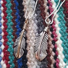 NAVAJO 『FEATHER NECKLACE(JOE MACE)』