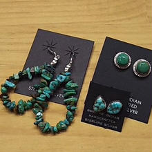 NATIVE JEWELRY 『PIERCE(TURQUOISE)』