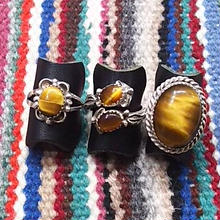 NAVAJO 『TIGER EYE(タイガーアイ) RING』