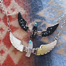 NAVAJO 『EAGLE NECKLACE(BEN LIVINGSTON)』