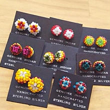 NATIVE JEWELRY 『BEADS PIERCE』