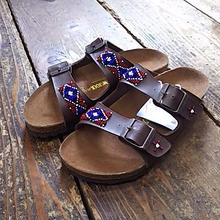 EARLY MORNING×BIRKENSTOCK 『BEADS SANDAL (ARIZONA) brown』