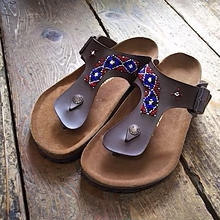 EARLY MORNING×BIRKENSTOCK 『BEADS SANDAL (RAMSES) brown』