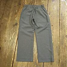 【SALE】 Nasngwam. 『ASSIST PANTS WIDE charcoal』