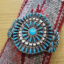 NAVAJO 『CLUSTER BANGLE turquoise(V.BEGAY) B』