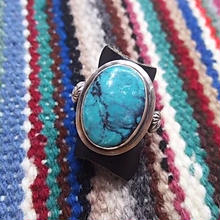 NAVAJO 『TURQUOISE RING (GLORIA BEGAY)12号』