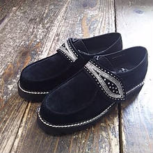 【SALE】 Nasngwam. 『LEAVES SHOES black』