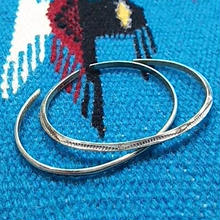 (再入荷) NAVAJO 『925SILVER NARROW BANGLE(ROUND&TRIANGLE)』