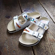 EARLY MORNING×BIRKENSTOCK 『BEADS SANDAL (ARIZONA) white』