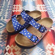 【SALE】 Birki's 『SANTIAGO stars&stripes』