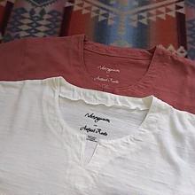 Nasngwam.  『BURKINA TEE(brick&white)』