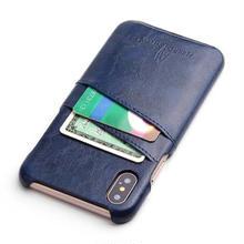 [MD142] ★ iPhone X ★ シェルカバー ケース カード収納 レザー シンプル オトナ カッコイイ ビジネス