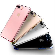 [NW522] ★ iPhone 6 / 6s / 6Plus / 6sPlus / 7 / 7Plus  / 8 / 8Plus / X ★ シェルカバー クリア ケース スリム 鏡面 バンパー