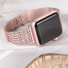 [NW597] ★Apple Watch belt 38mm/42mm ★ アップルウォッチ 替えベルト バンド メタル きらきら ストーン ブレスレット