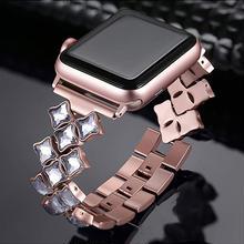 [NW588] ★Apple Watch belt 38mm/42mm ★ アップルウォッチ 替えベルト バンド きらきら ジュエリー ブレスレット 高級