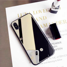 [MD428] ★ iPhone 6 / 6s / 6Plus / 6sPlus / 7 / 7Plus / 8 / 8Plus ★ シェルカバー ケース ミラー 便利 エチケット クール