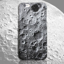 [NW191]  ★  iPhone SE /5 / 5s / 6 / 6s / 6Plus / 6sPlus / 7 / 7Plus / 8 / 8Plus ★ シェルカバー ケース 月 クレーター