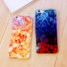 [NW290]★ iPhone 6 / 6s / 6Plus / 6sPlus / 7 / 7Plus ★ シェルカバー ケース ビタミンカラー グロス グラデーション 宝石