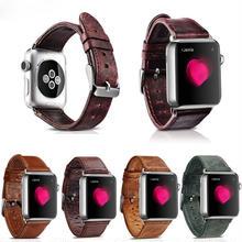 [NW512] ★Apple Watch belt 38mm/42mm ★ ヴィンテージ レザー 本革 アップルウォッチ 替えベルト バンド  メンズ レディース