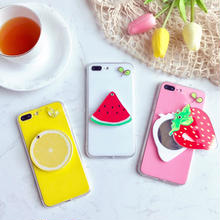 [NW480] ★ iPhone 6 / 6s / 6Plus / 6sPlus / 7 / 7Plus  / 8 / 8Plus ★ シェルカバー ケース フルーツ トロピカル ミラー イチゴ