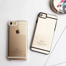 [NW193] ★ iPhone SE /5 / 5s / 6 / 6s / 6Plus / 6sPlus / 7 / 7Plus / 8 / 8Plus ★ シェルカバー ケース 透明 ライン