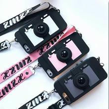 [MD436] ★ iPhone 6 / 6s / 6Plus / 6sPlus / 7 / 7Plus / 8 / 8Plus / X ★ シェルカバー ケース カメラ ストラップ 多機能 ポップ