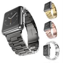 [NW514] ★Apple Watch belt 38mm/42mm ★シンプル ステンレス アップルウォッチ 替えベルト バンド ビジネス オフィス