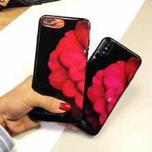 [MD390] ★ iPhone 6 / 6s / 6Plus / 6sPlus / 7 / 7Plus / 8 / 8Plus / X ★ シェルカバー ケース フラワー 綺麗 可愛い