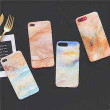[NW374] ★ iPhone 6 / 6s / 6Plus / 6sPlus / 7 / 7Plus / 8 / 8Plus ★ シェルカバー ケース 大理石 マーブル 液晶 フィルム