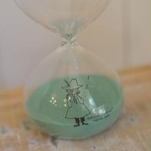 ムーミン砂時計 GR スナフキン/ニョロニョロ