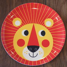 メラミンプレート lion