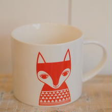 mug red fox