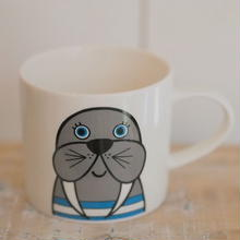 mini mug walrus