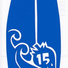 ワンポイントシリーズ【いちごのサーフボード】6cm版