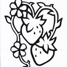 影絵シリーズ【挿絵のいちご(縦型)】9cm版
