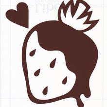 ワンポイントシリーズ【チョコいちご】5cm版