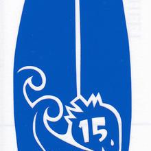 ワンポイントシリーズ【いちごのサーフボード】5cm版