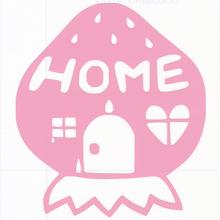 ロゴマークシリーズ【いちごのお家】5cm版