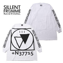 CRYPTIC -Outsize Long Sleeve- / WHITE