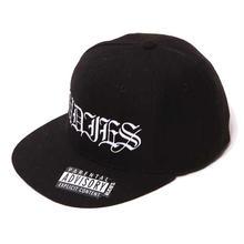 SWAG WOOL SNAPBACK CAP/BLACK