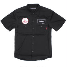 ONE BEER WORK SHIRT / BLACK