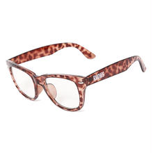 PHAT CLEAR SUNGLASSES / BROWN